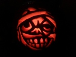 Jeannette's son Marco spent 7 hours carving pumpkins. Here's one of them! (Jeannette Gasparini/CTV Viewer)