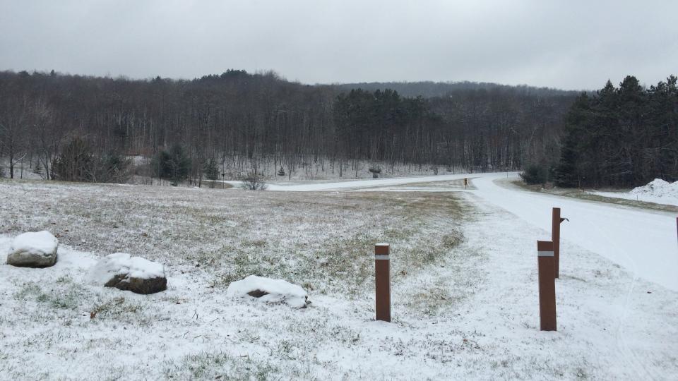 Salju di Taman Gatineau