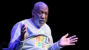 Comedian Bill Cosby performs at the Maxwell C. King Center for the Performing Arts, in Melbourne, Fla. on Nov. 21, 2014. (AP / Phelan M. Ebenhack)