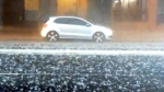 Heavy hail, rain hits Brisbane, Australia