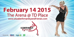 For a unique combination of live music, skating, Cirque Aerial Acts and community involvement, enter for your chance to win a pair of tickets to Elizabeth Manley & Friends at TD Place on February 14 at 7:30pm!