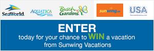 Win a family vacation to SeaWorld, Orlando!