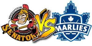 Binghamton Senators take on the Toronto Marlies