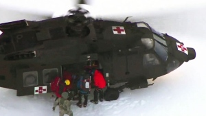 Hikers rescued after tumbling down U.S. mountain