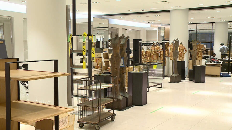 ... Nordstrom, is almost ready to move-in to its new Ottawa location