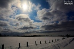 A beautiful snowy field and an equally beautiful sky scape. (Brian Beattie/CTV Viewer)