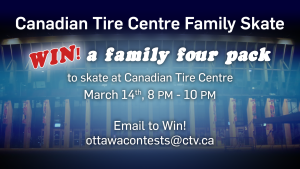 Canadian Tire Centre Family Skate!