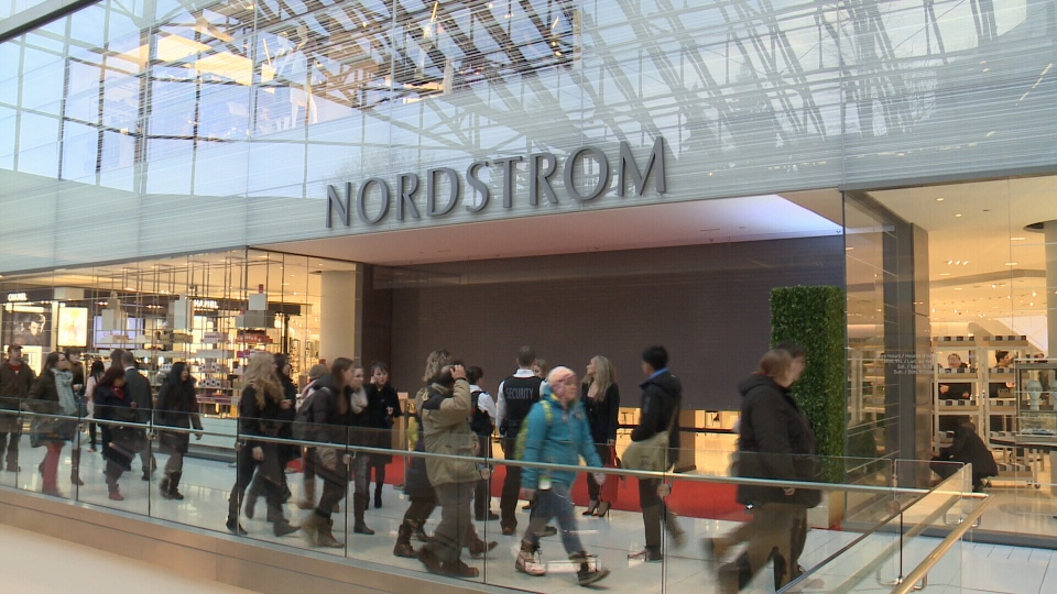 1,800 people enjoy the Nordstrom opening gala at the Rideau Centre.  ...