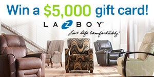 Watch to Win: Who is in our La-Z-Boy today?