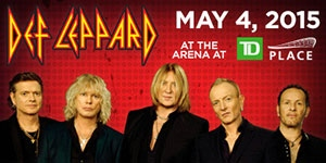 Def Leppard at TD Place