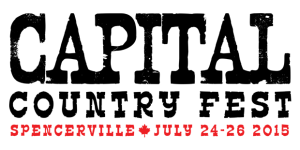 Capital Country Fest - Spencerville, July 24-26