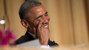 Barack Obama at Correspondent's Dinner