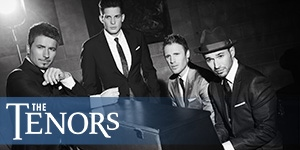 Win a pair of tickets to see The Tenors!