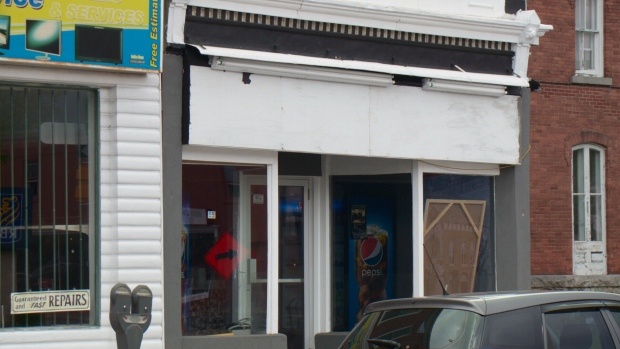 Shawarma shop busted in Cornwall yesterday.