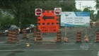 CTV Ottawa: New construction snarls Main St.