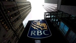 An RBC sign is pictured in downtown Toronto on Dec. 2, 2011. (THE CANADIAN PRESS/Nathan Denette)