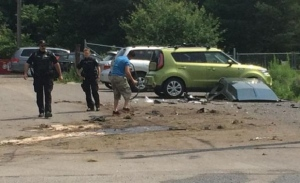 Two people sent to hospital after multi-vehicle crash in Ottawa's South-Eas...
