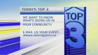 CTV Morning Live Top 3
