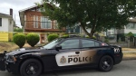 Officers were called to a home on East 24th Avenue near Rupert Street just before 3 p.m. on Sunday.