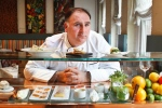 In this March 15, 2011 file photo, chef Jose Andres in his Minibar restaurant in Washington. (AP/Jacquelyn Martin, File)