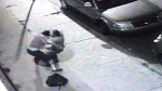 Extended: Security footage of strange Philly fight