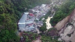 Extended: Drone view of Guatemala slide aftermath