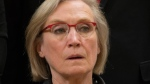 Minister of Indigenous and Northern Affairs Carolyn Bennett is seen during a group photo after being sworn in Wednesday Nov. 4, 2015 in Ottawa. (Justin Tang / THE CANADIAN PRESS)