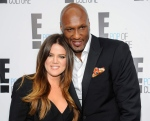 Khloe Kardashian Odom and Lamar Odom from the show 'Keeping Up With The Kardashians' attend an E! Network upfront event at Gotham Hall in New York on April 30, 2012. (Invision / Evan Agostini)