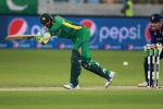 In this Nov. 20, 2015 file photo, Pakistan batsman Shoaib Malik plays a shot against England during the Pakistan and England 4th One Day International match at the Dubai International Stadium in Dubai, United Arab Emirates. (AP)