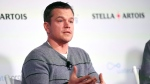 Actor Matt Damon, co-founder of Water.org, takes part in a panel discussion on the global water crisis during the 2016 Sundance Film Festival on Saturday, Jan. 23, 2016, in Park City, Utah. (Photo by Chris Pizzello / Invision / AP)