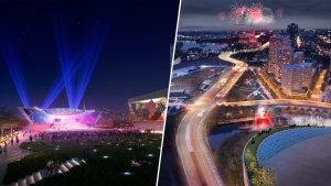 Concept photographs of plans to redevelop LeBreton Flats (Courtesy: Rendezvous LeBreton and Devcore Canderel DLS)
