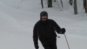 Never too old to ski