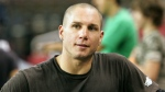 BMX rider Dave Mirra pauses during practice for the Panasonic Open event, in Louisville, Ky. on Thursday, June 9, 2005. (AP / Ed Reinke)