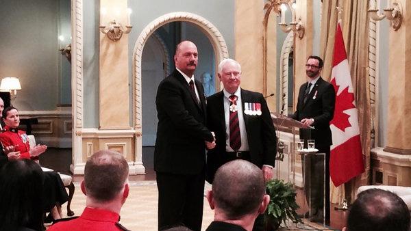 Bravery Awards at Rideau Hall