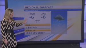 ctv mORNING lIVE wEATHER FEB 9