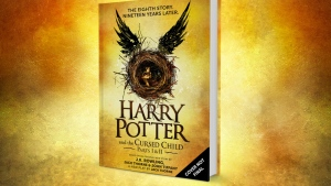 This is an image of the 'script book' of 'Harry Potter and the Cursed Child' that will be published July 31. (Pottermore)