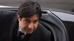 Jian Ghomeshi arrives at a Toronto court on Feb. 9, 2016. (Chris Young / THE CANADIAN PRESS)