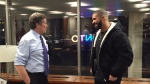 Toronto Mayor John Tory meets with rapper Drake in Tory's office on Wednesday, Feb. 3, 2016.