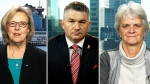 Conservative Defence Critic James Bezan, NDP Foreign Affairs Critic Helene Laverdiere and Green Party Leader Elizabeth May weigh in on the plan to pull planes from the anti-ISIS fight and increase troops on the ground.