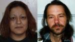 Violet Edna Miharija and David Fomradas (CTV News/Coquitlam RCMP).