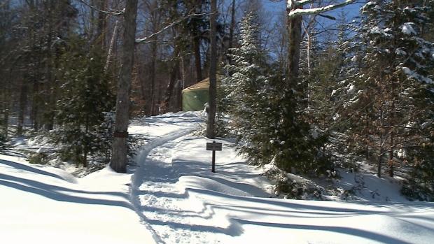 Yurt alert! Winter camping in Gatineau Park | CTV Ottawa News
