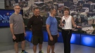 Getting fit with Tony Greco