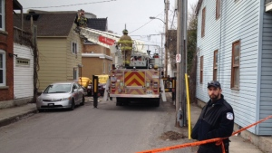 Firefighter injured after fire in Old Hull
