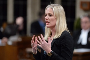 Environment Minister Catherine McKenna answers a question during Question Period in the House of Commons in Ottawa on April 20, 2016. (Adrian Wyld / The Canadian Press)