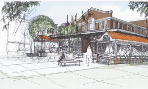 Artists rendition of a new vision for the Byward Market. Image Courtesy: David O'Malley)
