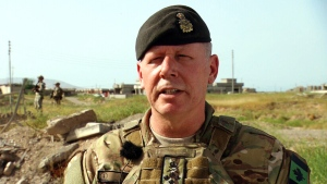 Lisa LaFlamme speaks to Canada's top soldier in I