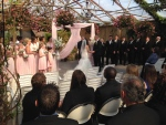 """Heidi Moore and Randy Comer say """"I do"""" at their wedding on Friday, April 29, 2016. (Heather Butts/ CTV Barrie)"""