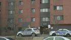 Ottawa Police on scene of a suspicious death off o