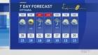 Wednesday midday weather