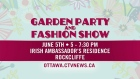 Garden Party and Fashion Show
